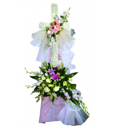 Funeral Floral Cross