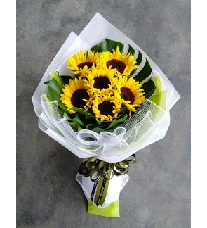 Sunflower Hand Bouquet
